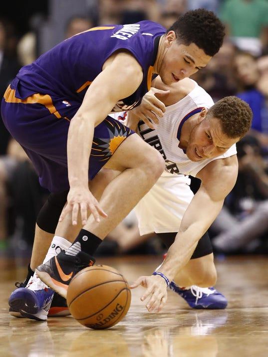 Los Angeles Clippers vs. Phoenix Suns 2017