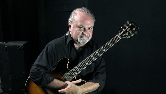 Southern blues-rock guitarist Tinsley Ellis is playing