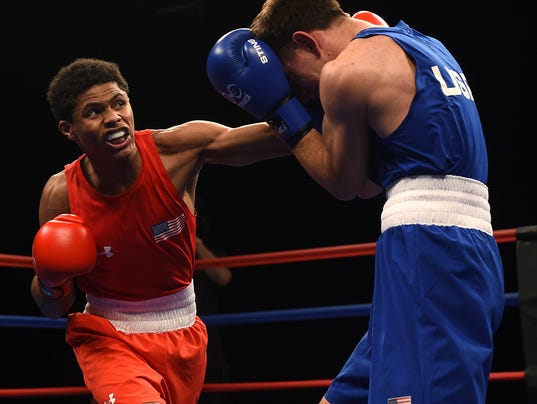 Olympic Boxing Trials Stevenson Punches Ticket To Rio - Olympic boxing schedule