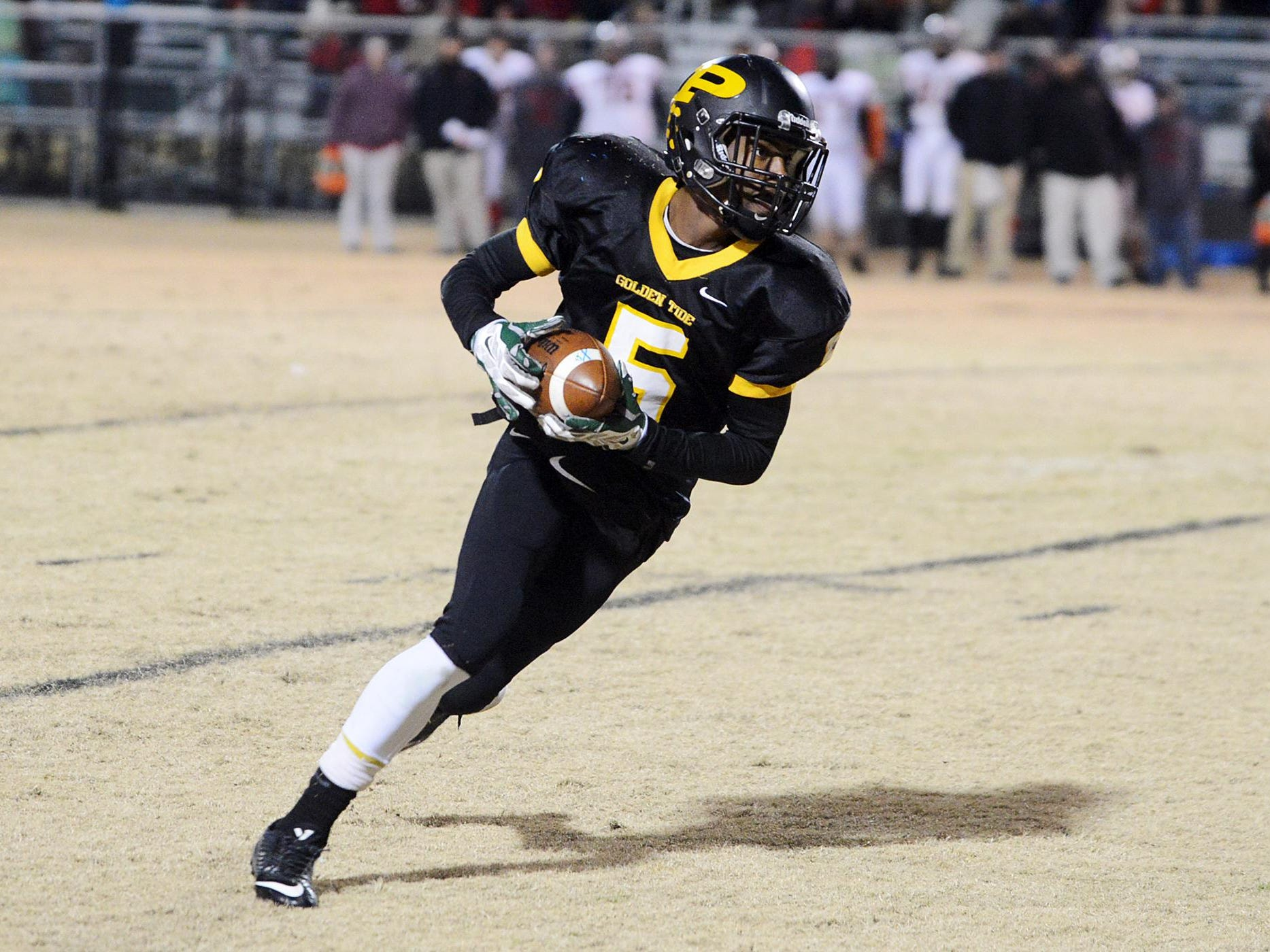 Peabody's Keyvon Goodwin and the rest of the Golden Tide open the season ranked No. 2 in Class 1A.
