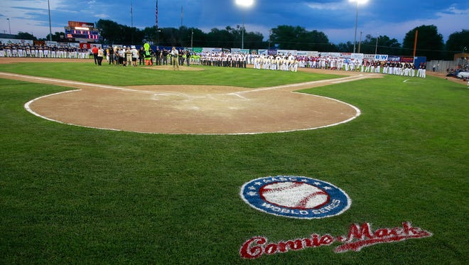 The Connie Mack World Series gets underway with the opening ceremony on Friday at Ricketts Park in Farmington.