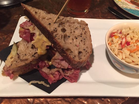 From bread to mayo, the Reuben sandwich at Dutch's in East Hyde Park boasts ingredients made in-house.