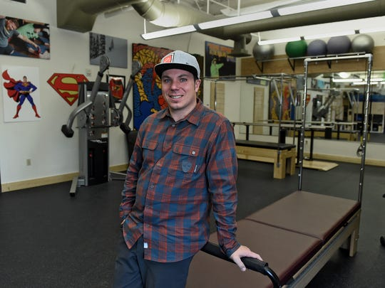 High Five Foundation founder Roy Tuscany stands in the C.R. Johnson Healing Center in Truckee.