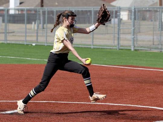 Rider's Brylee Grubb-Erwin is one of three returning starters in Abby Bates' first season leading the program.