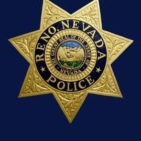 Reno police badge.
