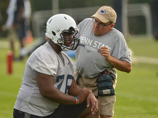 """How much will Penn State miss longtime equipment manager Brad """"Spider"""" Caldwell?"""