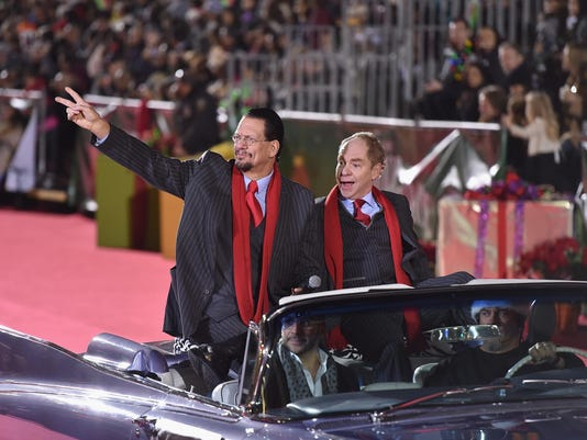 2015 Hollywood Christmas Parade