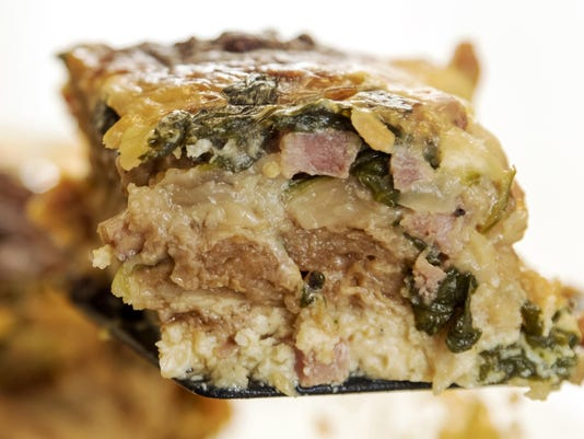 Test Kitchen recipe: Easy breakfast casseroles are big time savers during the holidays