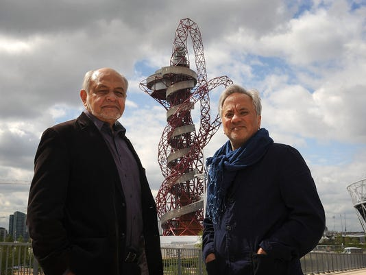 The Completed ArcelorMittal Orbit Is Unveiled In The Olympic Park