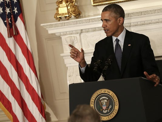 Obama And Biden Address National Governors Association At White House