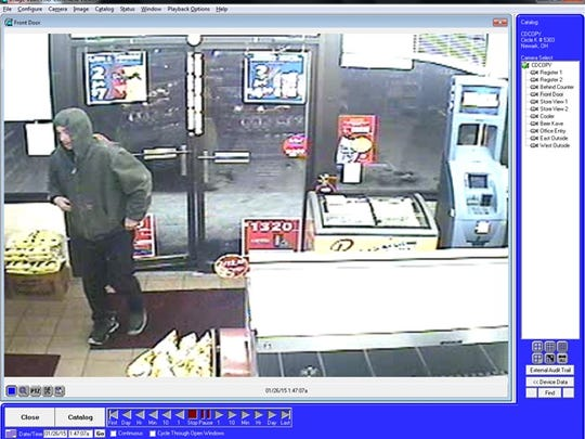 This man is suspected of robbing the Circle K on West