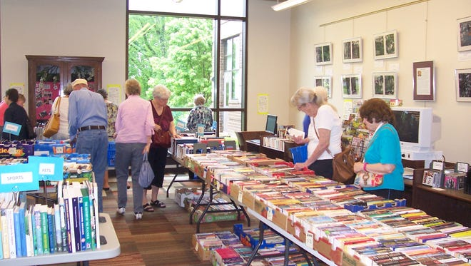 The book sale at Hendersonville Public Library begins Nov. 5 and will last until December.