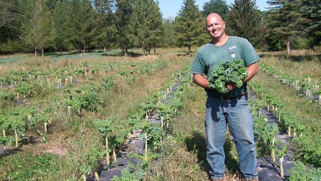 Farm Manager Mike Yancho of Forgotten Harvest Farms