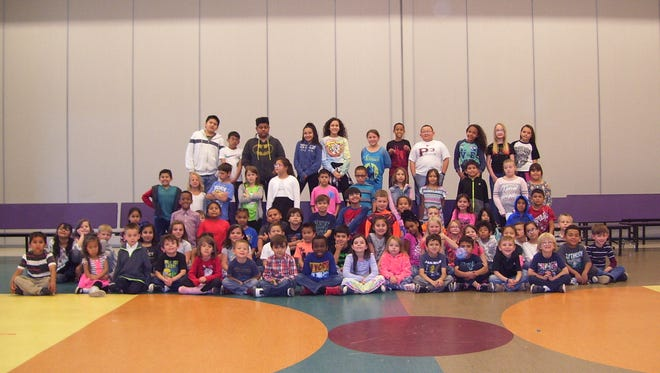 Desert Star Elementary School had 82 students qualify for the BUG Honor Roll in March.