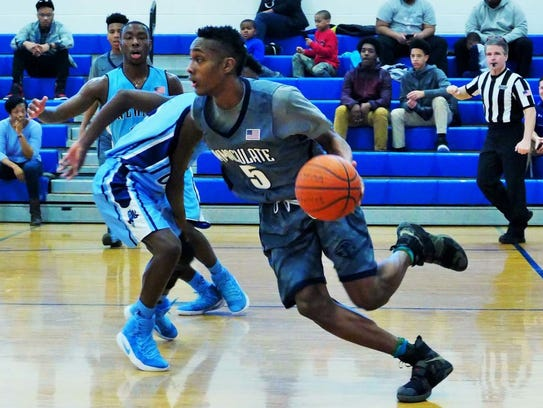 Jalen Carey is ranked among the top point guard prospects