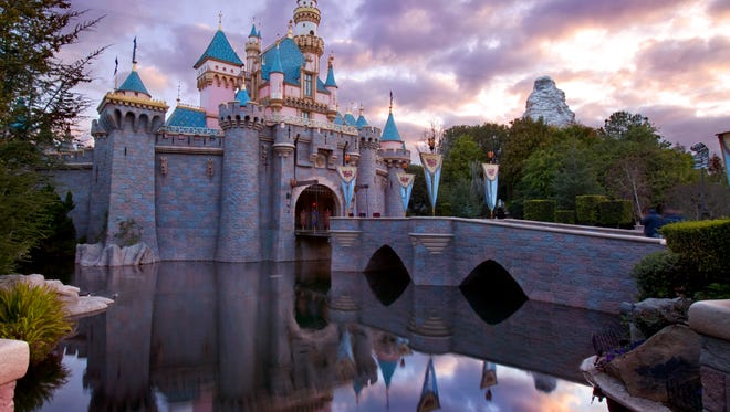 Sleeping Beauty Castle at Disneyland is the centerpiece of Fantasyland,