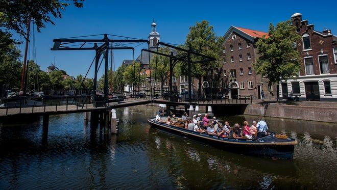Canals of Schiedam