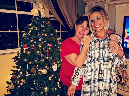 After the worst: Susan Senor and her daughter Jaclyn