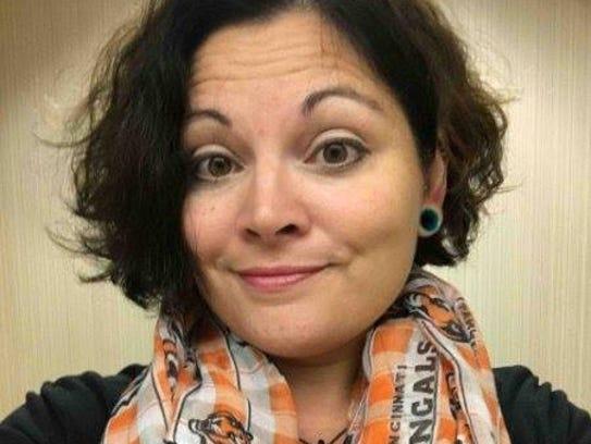 Megan Moore of Lawrenceburg, Ind.