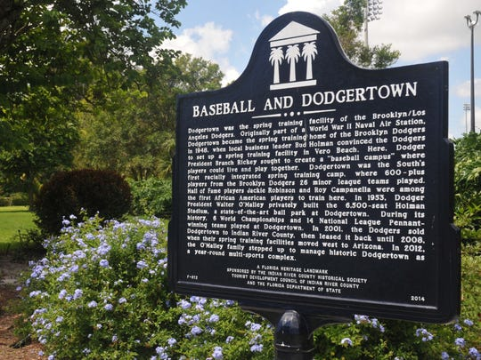 Historic Dodgertown was designated as a Florida Heritage