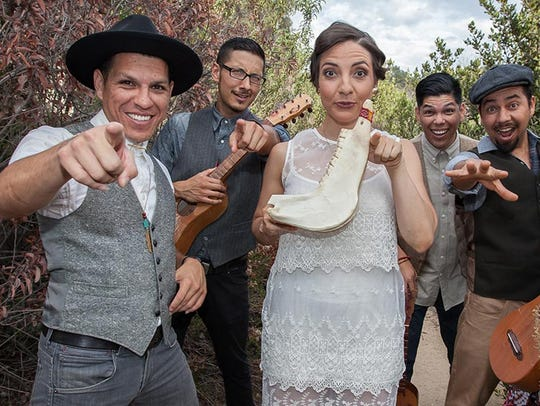 "Las Cafeteras is on the bill for ""globalFest"" on Sunday"