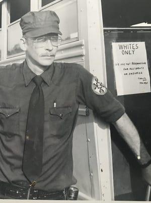 A Ku Klux Klan boss in Texarkana, Texas circa 1985