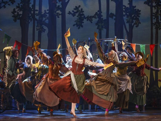 """The company in """"Rodgers + Hammerstein's Cinderella,"""" appearing at the Playhouse on Rodney Square through Sunday."""