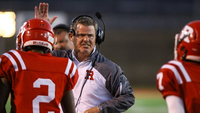 Laird led Ruston, his alma mater, to a 28-16 record and one playoff win in four seasons.