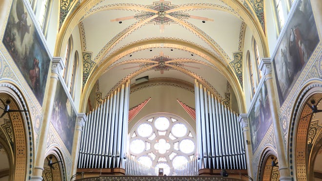 Maintenance work on the pipe organ will be part of a three-month interior renovation project at St. Francis Xavier Cathedral in Green Bay. The cathedral will close Sept. 3.