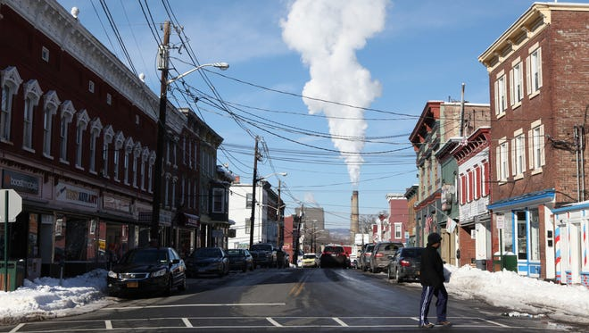 A view of downtown Haverstraw. Irene Lenardson, a 70-year-old homeless woman was found dead in Haverstraw in the bitter cold.