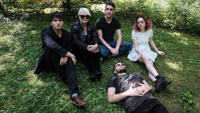 Cindy Wilson visits the Woodward Theater with her band Monday.