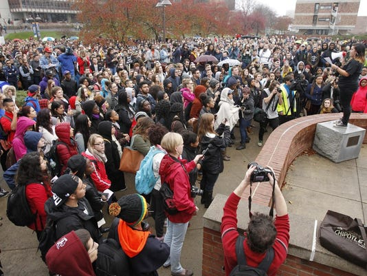 Ithaca College protest2