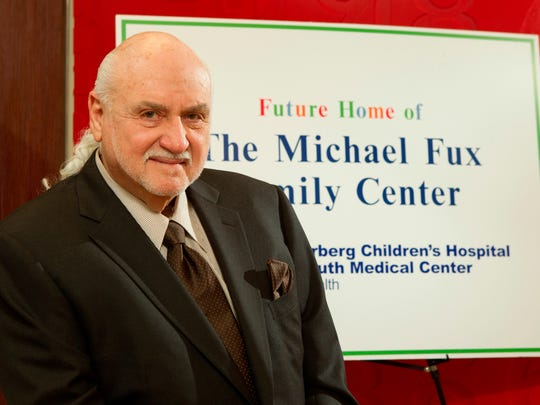 Michael Fux, chief executive officer of Comfort Revolution LLC in West Long Branch, donated $1 million to Monmouth Medical Center.