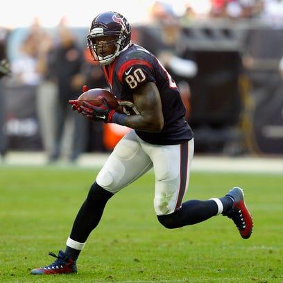 HOUSTON, TX - NOVEMBER 23:  Andre Johnson #80 of the