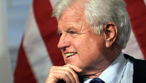 In this Feb. 4, 2005, file photo, then-senator Ted