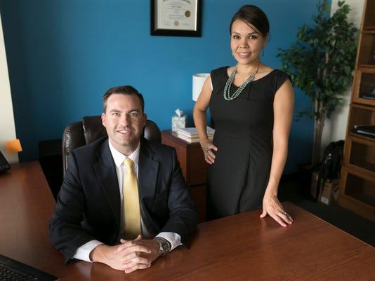 Attorneys Ryan and Kristin McPhie
