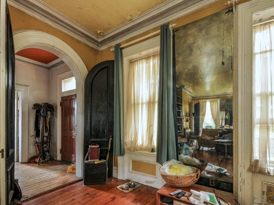 The home was once owned by Broadway theater set designer and actor, Rollo Peters.