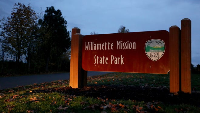 Willamette Mission State Park on Wednesday, Nov. 11, 2015.
