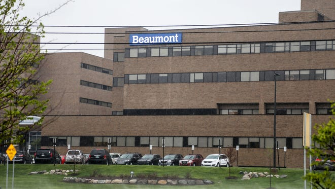 Beaumont Hospital in Troy on Saturday, May 12, 2018.
