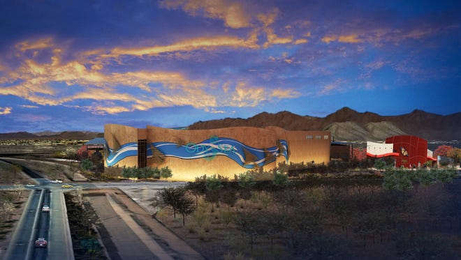 OdySea Aquarium, at Via de Ventura and Loop 202, will be among attractions at the OdySea in the Desert entertainment complex. Butterfly Wonderland is already open nearby.