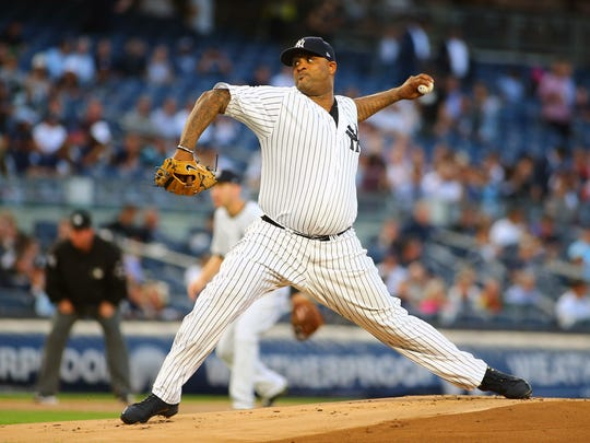 CC Sabathia was outstanding Thursday night in helping the Yankees defeat the Red Sox.