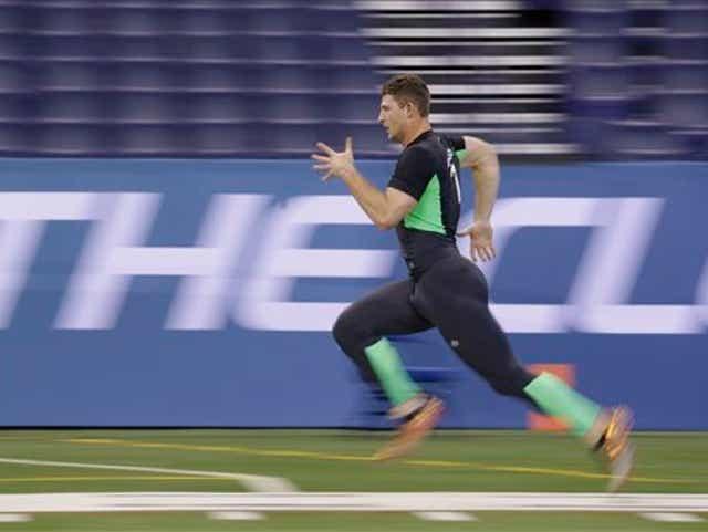 Jeff Driskel fastest QB at NFL Combine with 4.56 40-yard dash