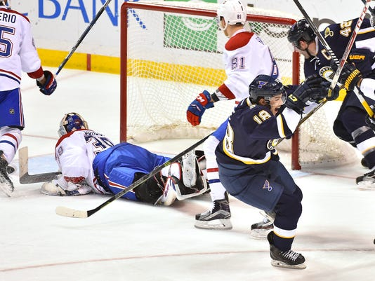 USP NHL: MONTREAL CANADIENS AT ST. LOUIS BLUES S HKN USA MO