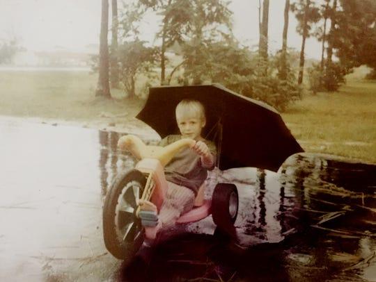 Ben Freeland got a Big Wheel when he was 6.
