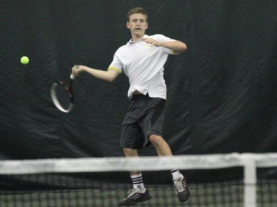 Luke Webster's victory at No. 3 singles clinched Lexington's