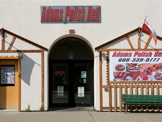 Adams Polish Deli at 101 South Main Street in Adams,