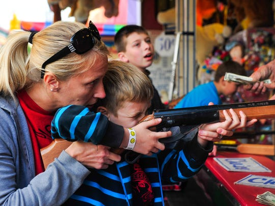 Kids of all ages will have the chance to play games during the 36th annual Popcorn Festival. It runs Thursday through Saturday in downtown Marion.