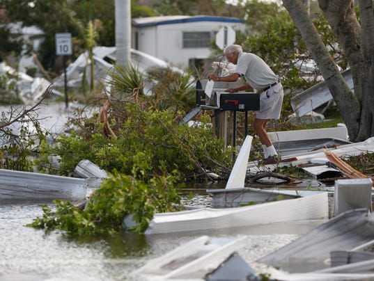 USP NEWS: HURRICANE IRMA A USA FL