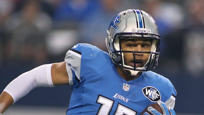 Detroit Lions wide receiver Golden Tate.