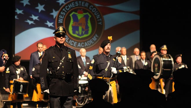Thirty one police recruits graduated from the Westchester County Police Academy on May 27, 2016 at SUNY Purchase.